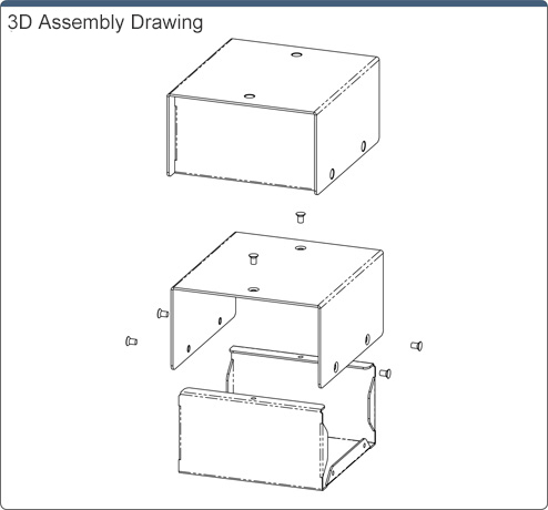 R Series Aluminum Box U-Shaped Reinforced Type RACHK: Related Image