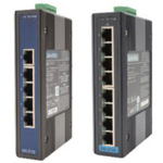 5 / 8 Port Industrial Gigabyte Ethernet Switch (with Surge Protection)