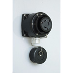 Waterproof Exposed Outlet - Twist Lock 60 A