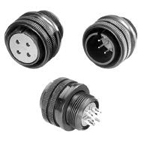 D/MS (D190) Series - Round, Drip-Proof/Waterproof Connectors
