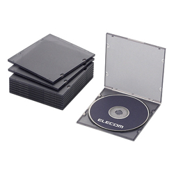 Blu-ray / DVD / CD Case (Slim / PP / 1 Sheet Storage)