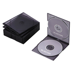 Blu-ray / DVD / CD Case (Slim/PS / 2 Sheet Storage)