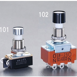 Small push button switch EA940DA-101
