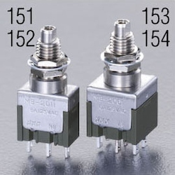 Small push button switch EA940DA-154