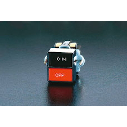 Square 2-contact self-holding push button switch EA940DA-3