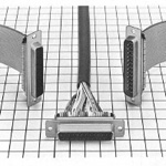 D-Sub Connector (Ribbon Cable IDC Termination, Low-Profile), FDD Series