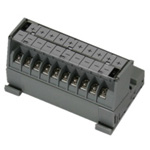 Slope-Shaped Terminal Block Common Unit