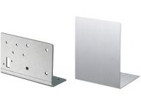 Uncoated Panel L Type Highly Corrosion-Resistant Hot-Dip Steel Plating / Stainless Steel