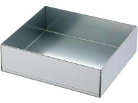 Uncoated Panel Box Highly Corrosion-Resistant Hot-Dip Steel Plating / Stainless Steel