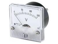 Analog Meter (Voltmeter / Ammeter for AC)