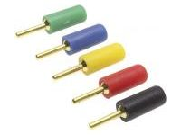 φ2 mm Pin Plug (Gold Plating)