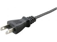AC Cord, Fixed Length (PSE), Single-Side Cut-Off Plug