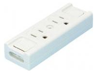 Extension Cord Parts - Temporary Outlet (2-Ports)