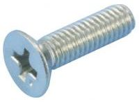 Consists of flathead screw / stainless steel
