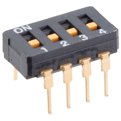Seal type dip switch A6D / A6DR
