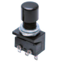 Ultra-Small Size Push Button Switch (Round Body Shape φ10.5) A2A