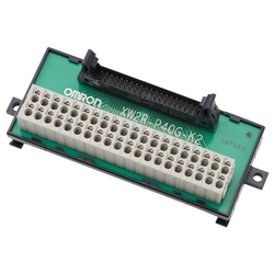 Connector Terminal Block Conversion Unit XW2R (PLC Connection Type)