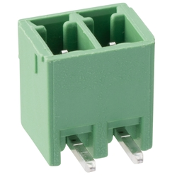 Terminal block XW4 series for printed circuit boards.