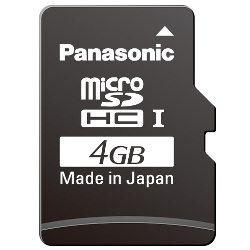 High Durability Industrial/Professional Micro SD Card KC Series (4 to 16 GB)