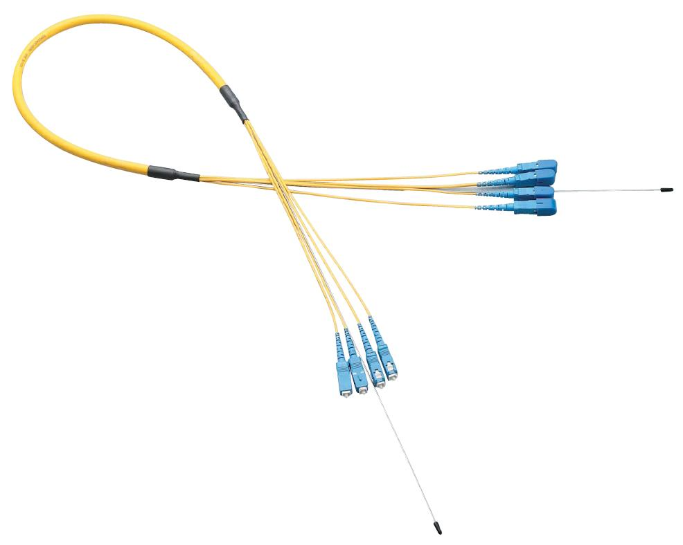 Optical Fiber Cable, Cord Gathering, Indoor Use, Single Mode