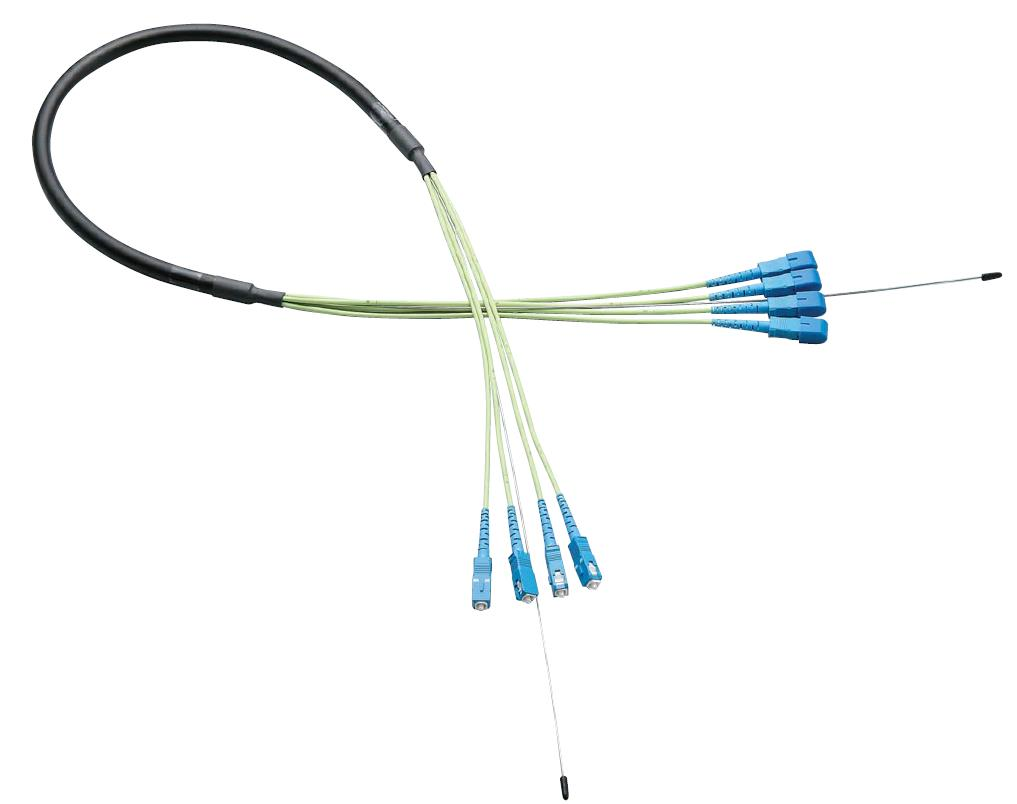 Optical Fiber Cable, Cord Gathering, Outdoor Use, Multi-Mode