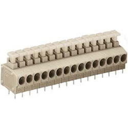 Terminal block (For Printed Circuit Boards) - with push button 235 series
