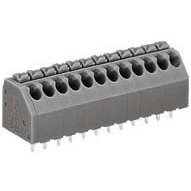 Terminal block (For Printed Circuit Boards) - with push button 250 series