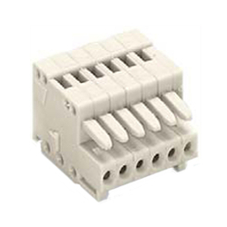Spring Type Connector, 733 Series, 2.5 mm Pitch, Female