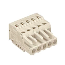 Spring Type Connector, Mismatch Prevention Type, 721 Series, 5 mm Pitch, Female