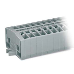 Compact Terminal Block/ Screw or Snap-in or DIN Rail/264