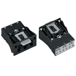 New Spring Type Connector 770 (WINSTA) Series Panel Feed-Through Type