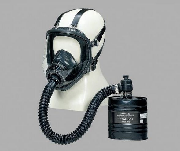 Isolation Type Gas Mask GM161-2