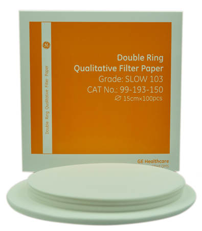 Double Ring Qualitative Filter Paper