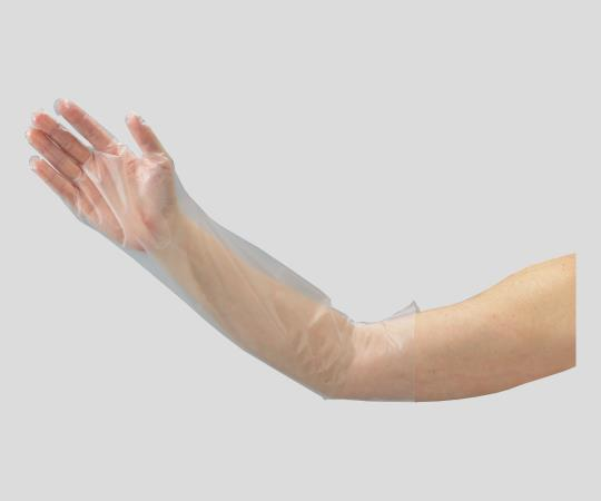 Polyethylene Long Gloves (Covers Elbow)