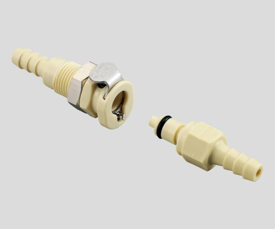 Super-Small Type Coupling (PP / With Valve)