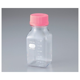 Violamo Polycarbonate Square Bottle 250mL (Box Sale) 24 Pcs