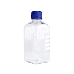 PETG Sterilization Culture Medium Bottle WPBGC2000S 2000mL 6 Pcs