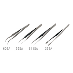 Stainless Steel Tweezers Length 125mm Tip Size 60mm