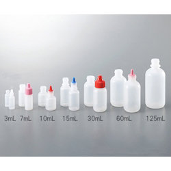 Small And Fixed Quantity Drip Bottle Tip Natural For 7, 10, 15mL