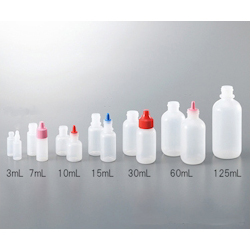 Small And Fixed Quantity Drip Bottle Tip Natural For 30, 60, 125mL