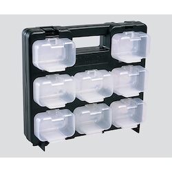 Skeleton Part Box (Frame Black, Small Box: Transparent x 16 Pcs)