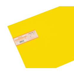PS Plate 300 x 450 x 0.5 mm Yellow
