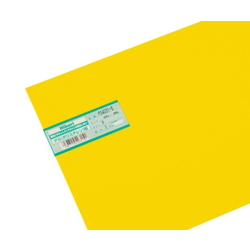 PS Plate 300 x 450 x 1.0 mm Yellow