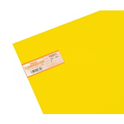 PS Plate 600 x 900 x 0.5 mm Yellow