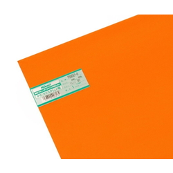 PS Plate 600 x 900 x 1.0 mm Orange Clear