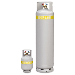 Cylinder Freon Recovery and Regeneration Cylinder for High Pressure Resistant Freon Recovery and Regeneration (Float Sensor Built In)