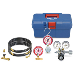 Air-Tightness Test Kit for Testing with Nitrogen Gas