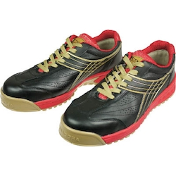 Work Safety Shoes PEACOCK Black & Red