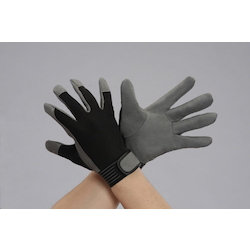 Leather Gloves (Synthetic Leather) EA353BJ-82