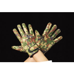 [Camouflage] Cowhide Gloves EA353J-66